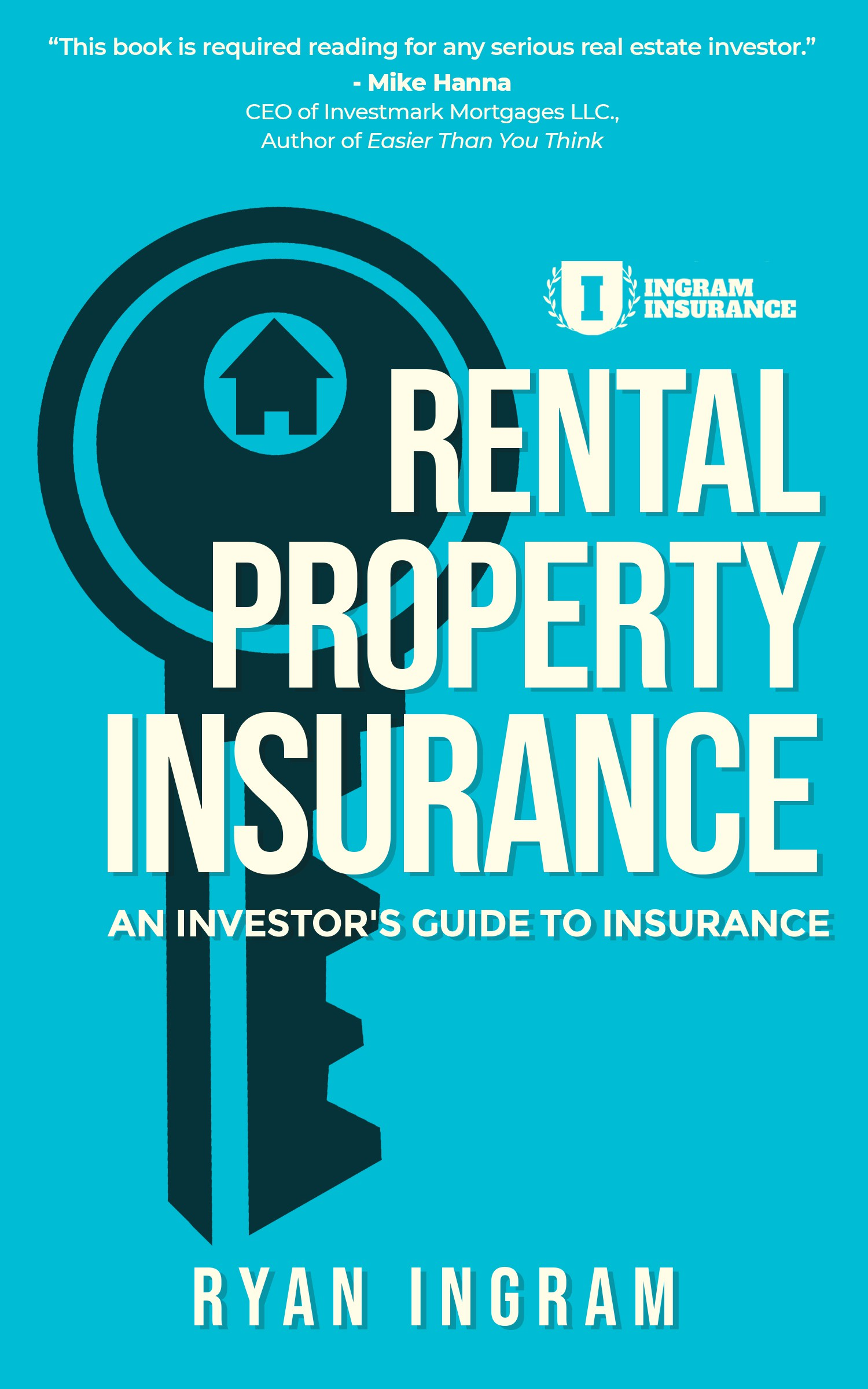 """Book Cover for the title """"Insurance for Real Estate Investors"""""""