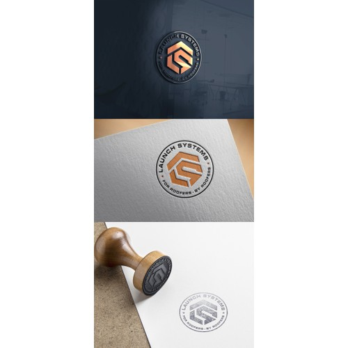 Design for Marketing Roofers Company logo ( LAUNCH SYSTEMS )