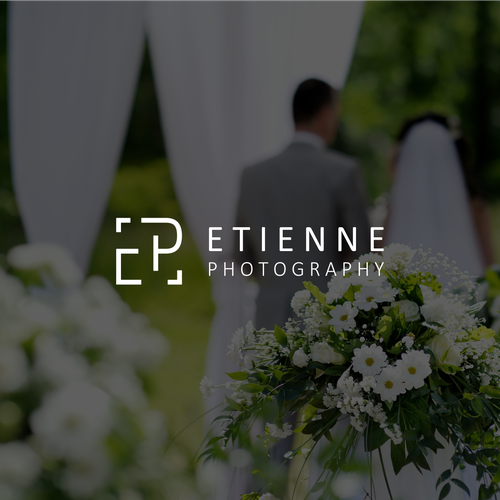 Modern, minimalist logo design for Wedding Photographer