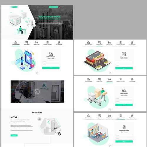 RYTLE website redesign