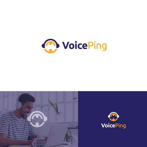 Logo for a Japanese audio conferencing platform