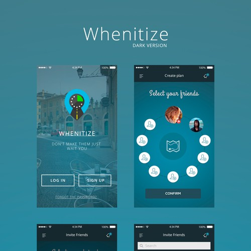 Proposal for Whenitize app