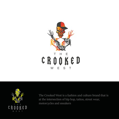 Logo For the crooked nation