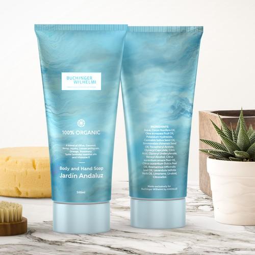 Premium soap label design