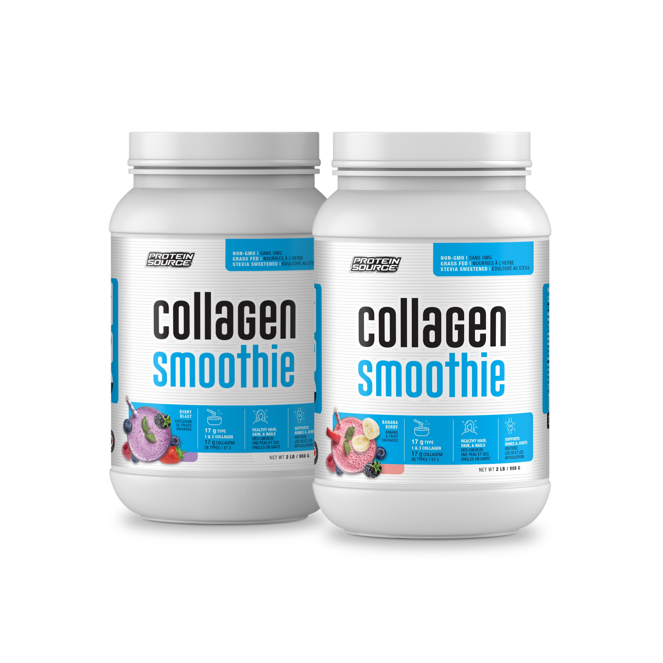 Protein Source Collagen Smoothie - Two Flavors