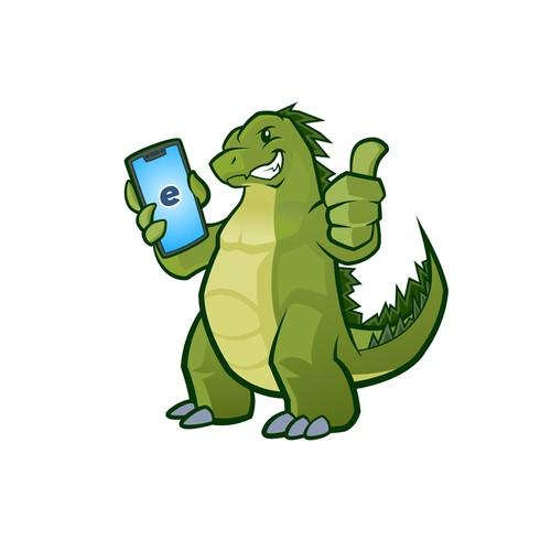 Cute Godzilla