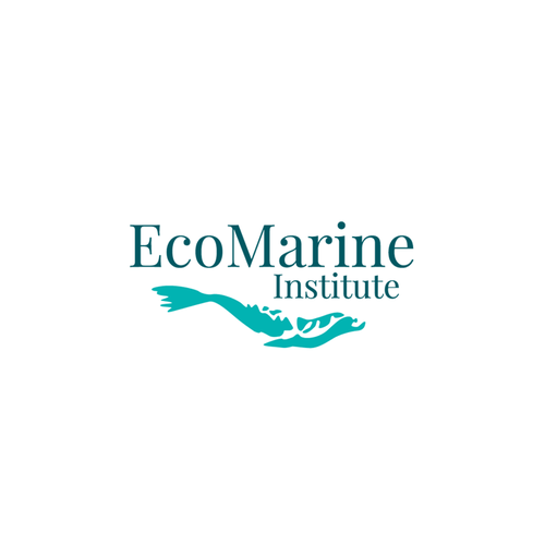 Logo for non profit organization focused on marine and environmental issues.