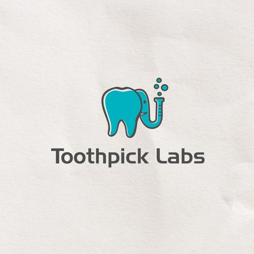 Cool animal logo For Toothpick Labs