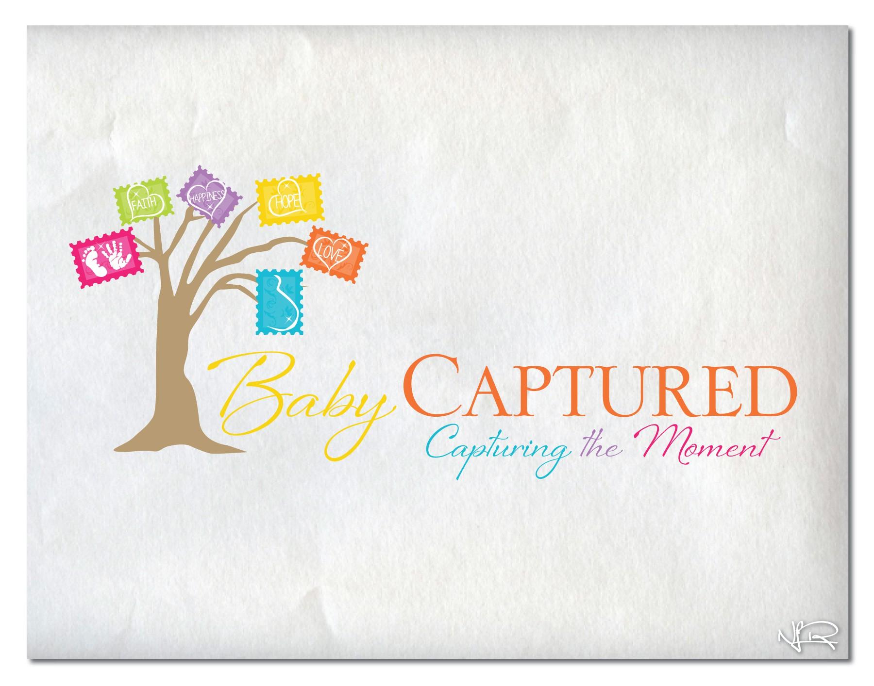 logo for Baby Captured