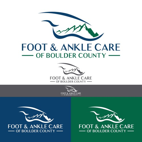 Creative logo for a Podiatry Clinic