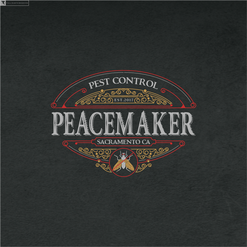 Channel your inner Clint Eastwood. Design a vintage western logo for Peacemaker Pest Control! Guaranteed!
