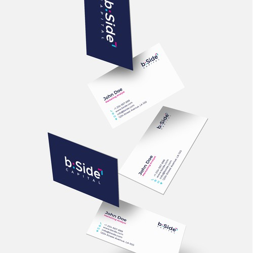 Logo concept for b:side
