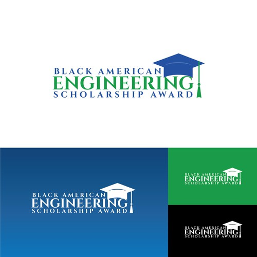 Clean logo entry for Black American Engineering Scholarship Award