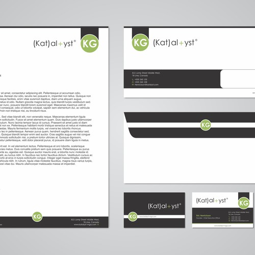 Create a unique design that strengthens our corporate identity