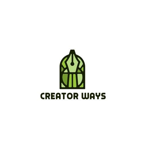 Artistic logo concept