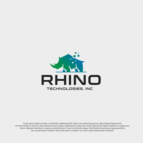 logo concept for rhino