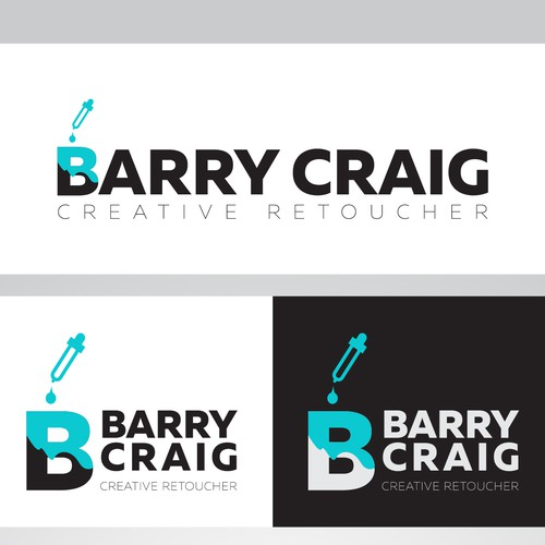 Logo for a creative retoucher