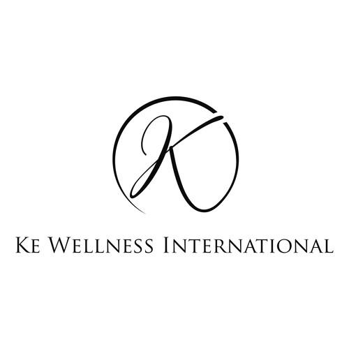 letter K elegant logo