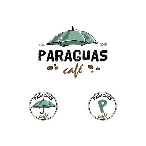 Paraguas café