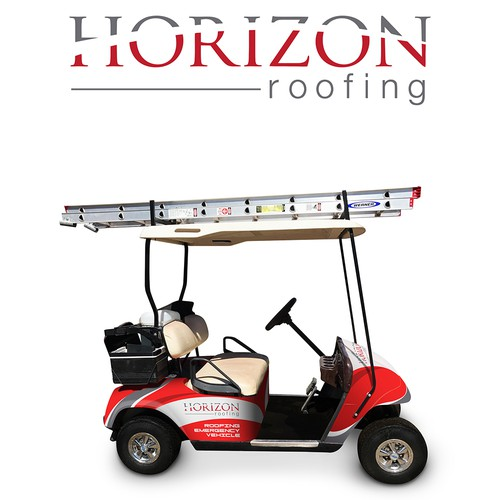 Vehicle Wrap for Horizon Roofing