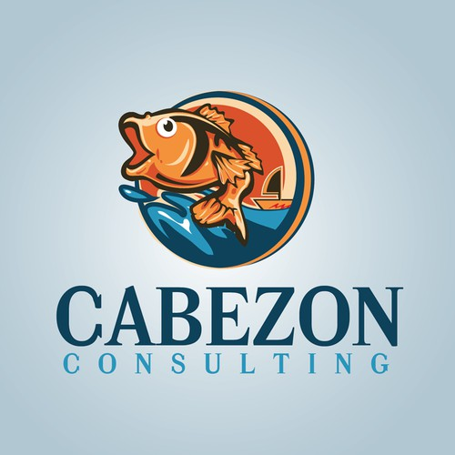 Logo for Cabezon Consulting   - Fun Project.  Must Draw Fish
