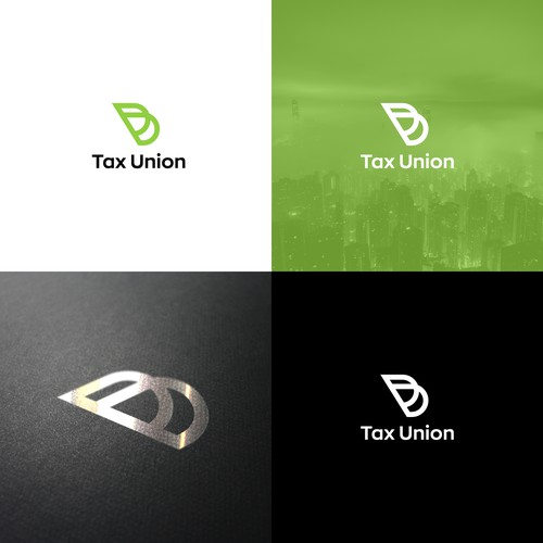 Abstract logo concept for Tax Union