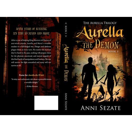 Book Cover for Aurella the Demon (Book 3)