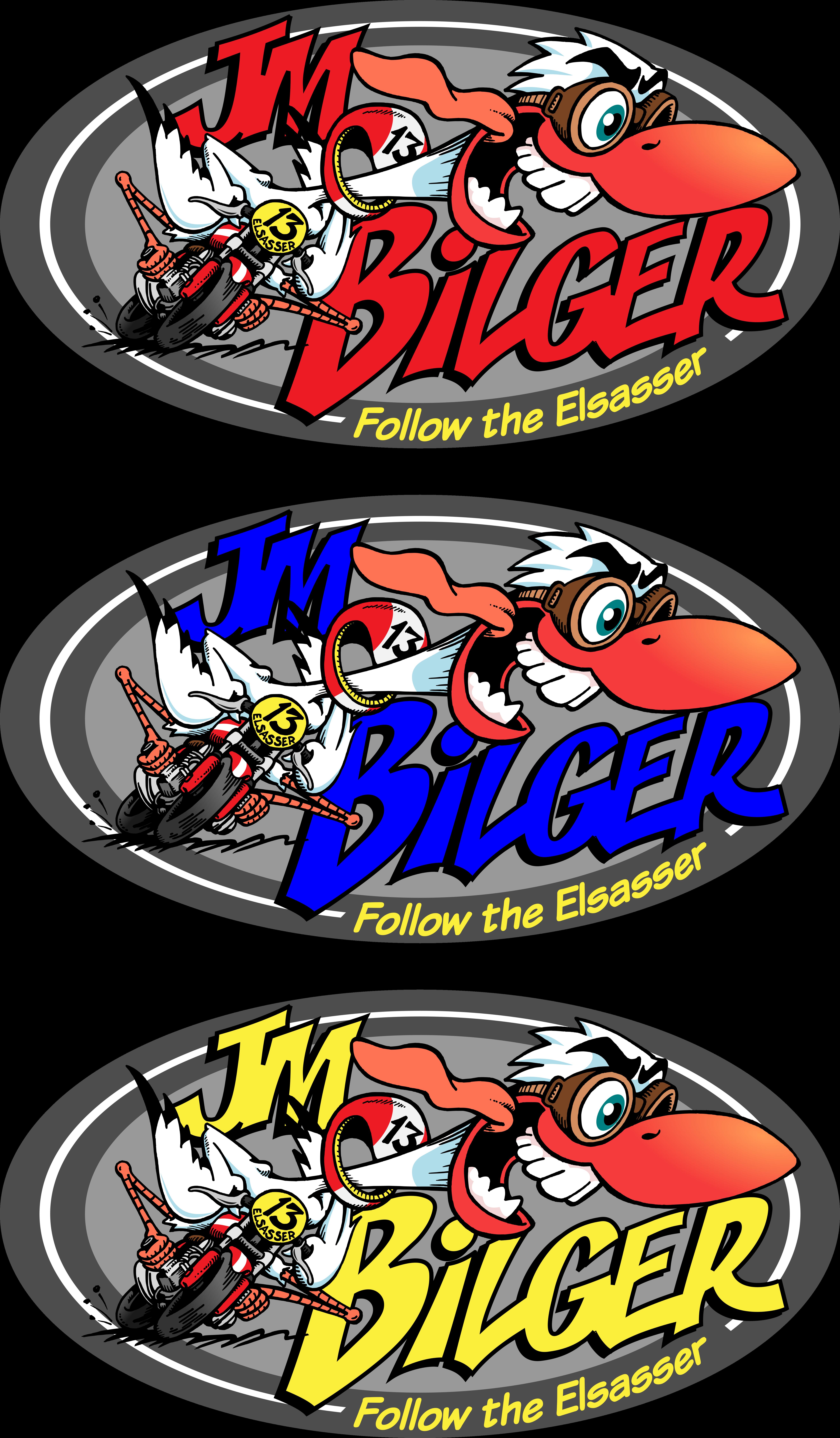 Logo for bike racer
