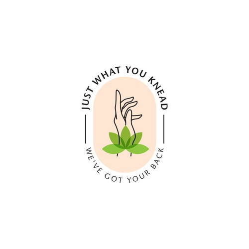 Luxurious logo for a Massage business