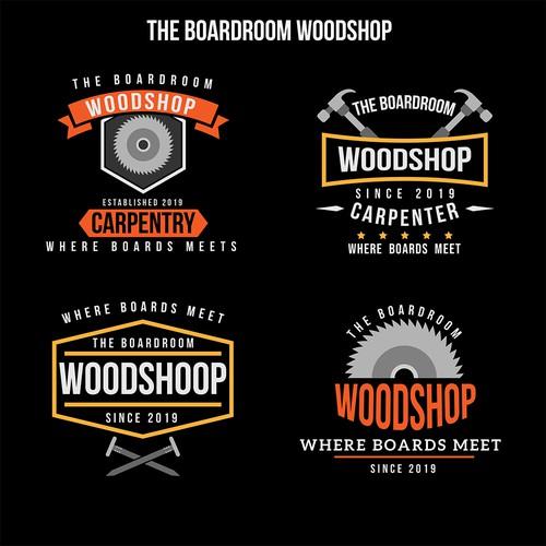 Logo Concept for Wood Shop