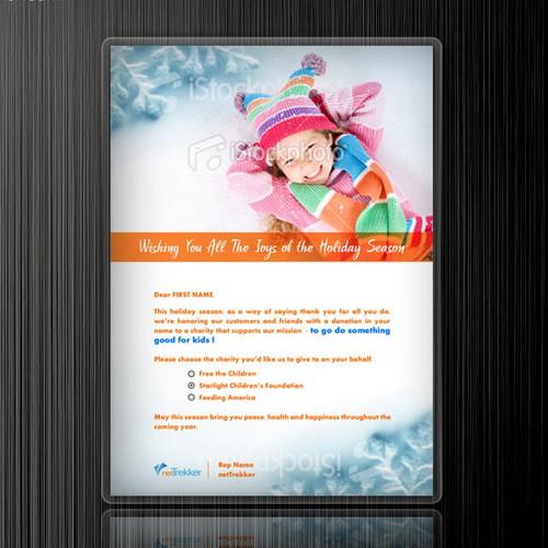 Fun Holiday E-Card Design!