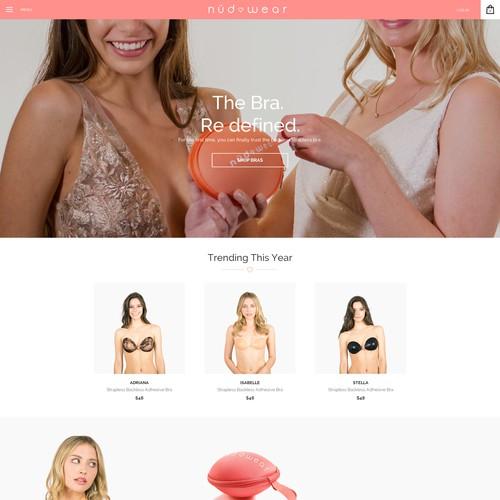 web design for nudwear