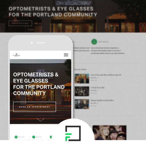 Squarespace Website Conversion and Design for Optometrist Group