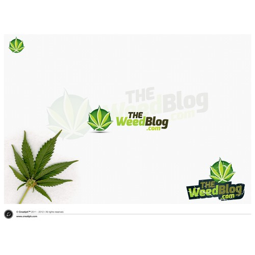 Help THE Weed Blog with a new logo