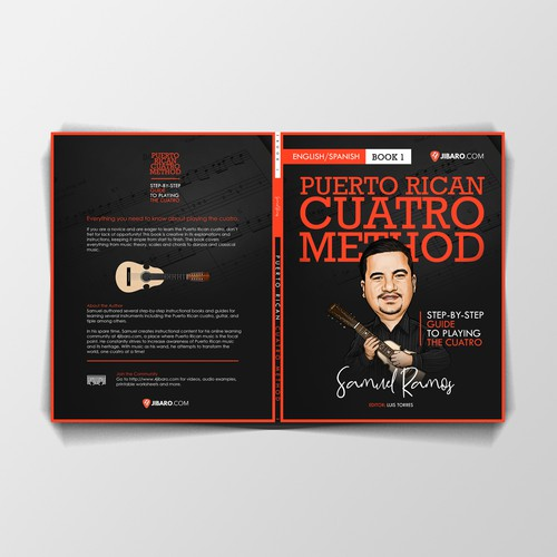 Book Cover for Puerto Rican Cuatro Method