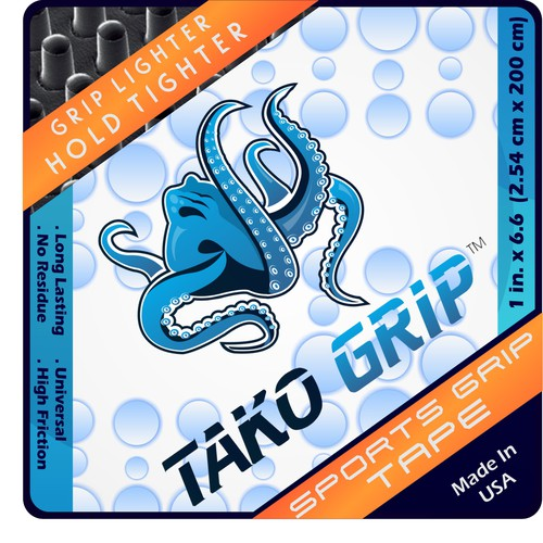 New product label wanted for Tako Grip