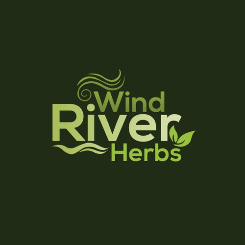 Logo design for Wind River Herbs