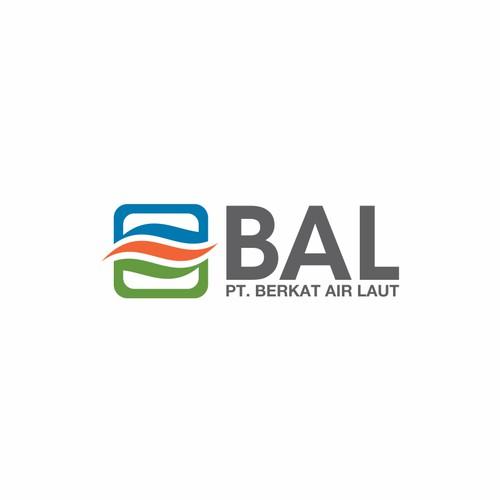 PT Berkat Air Laut, or just BAL in the logo needs a new logo