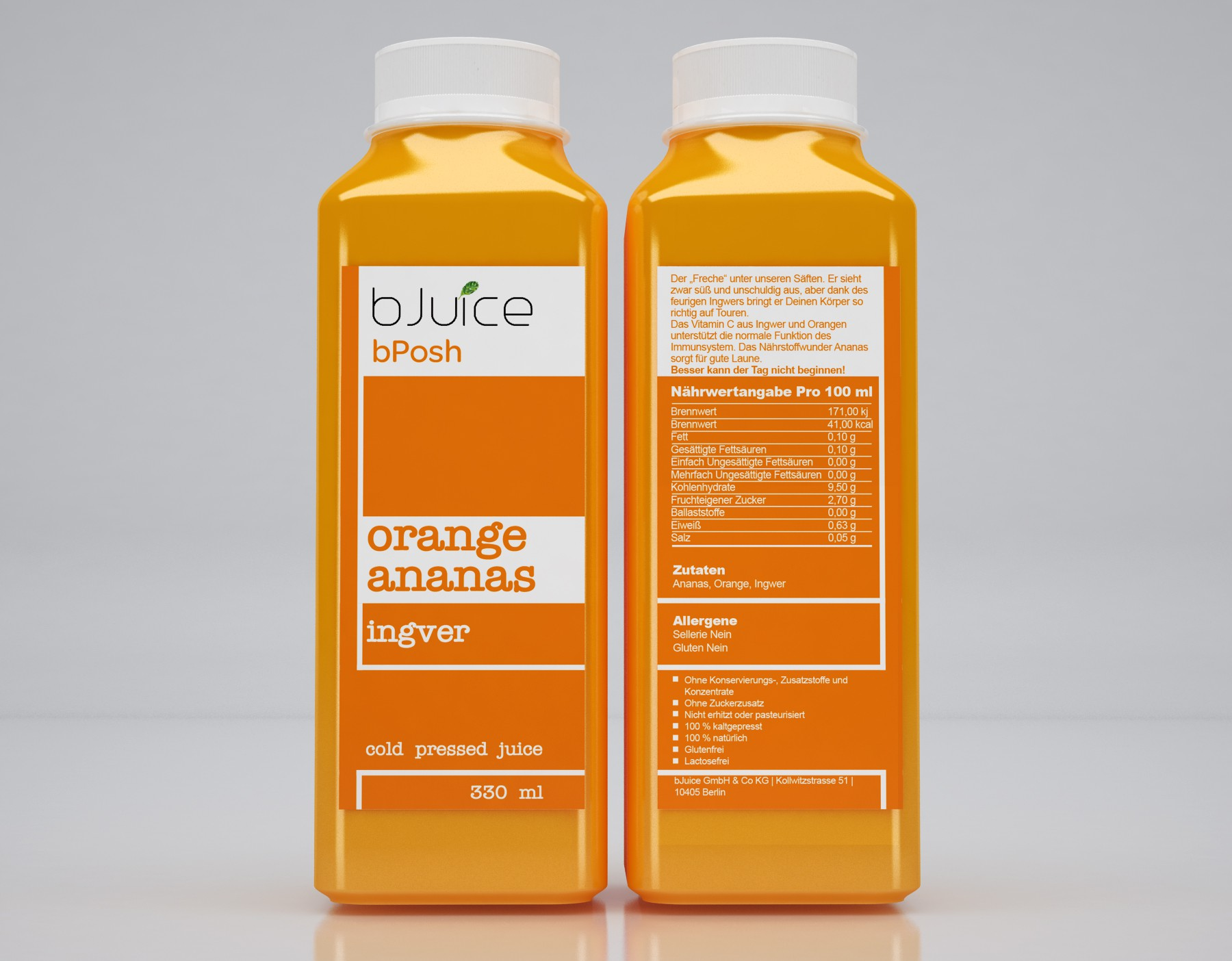 Create an edgy and smart label for bJuice bottles