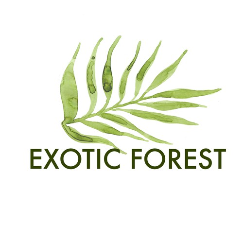 Logo for Exotic Forest