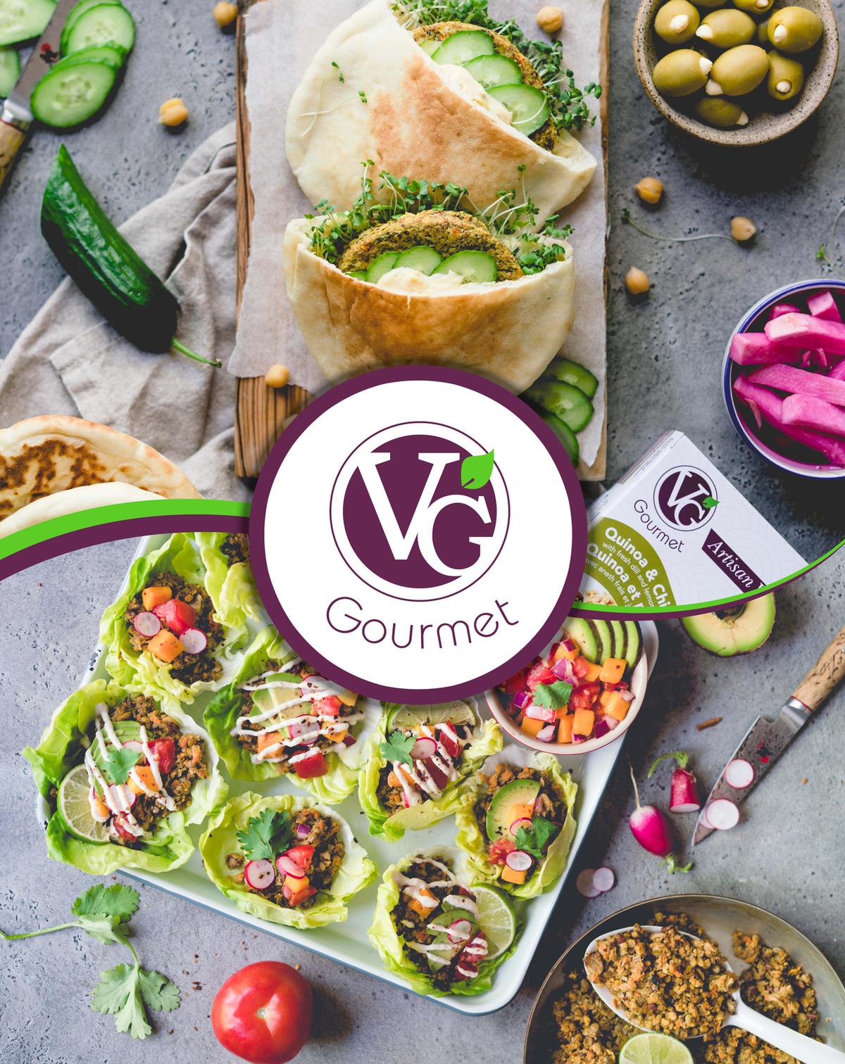 VG Gourmet Trade Show Banner