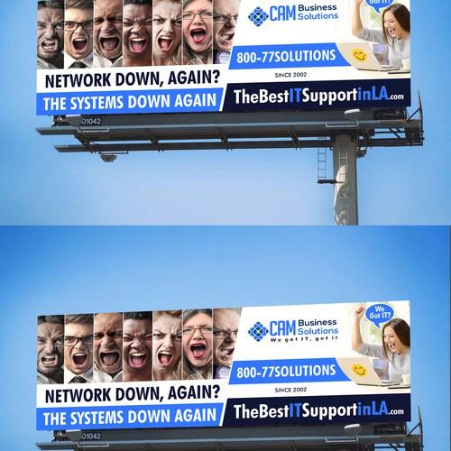 Network Improvement Billboard