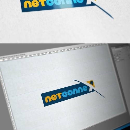 Logo concept for internet services