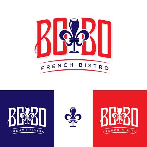 BOBO: cool, bohemian edged new French Bistro needs cool logo.