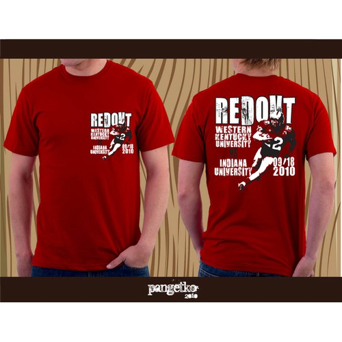 RED OUT Football Shirt