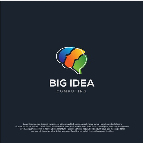 Logo concept for big idea