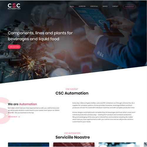 CSC Automation - Business Website