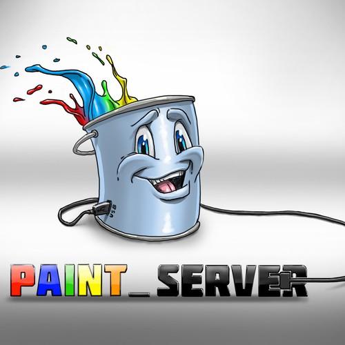 Paintserver Mascot