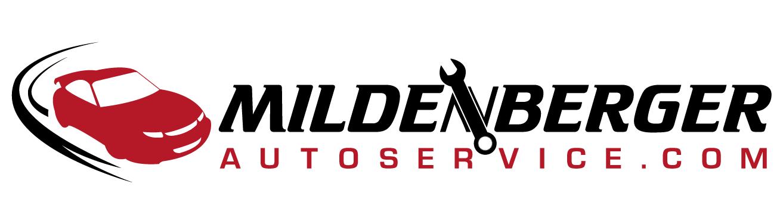 Create the next logo for www.MILDENBERGER-AUTOSERVICE.com