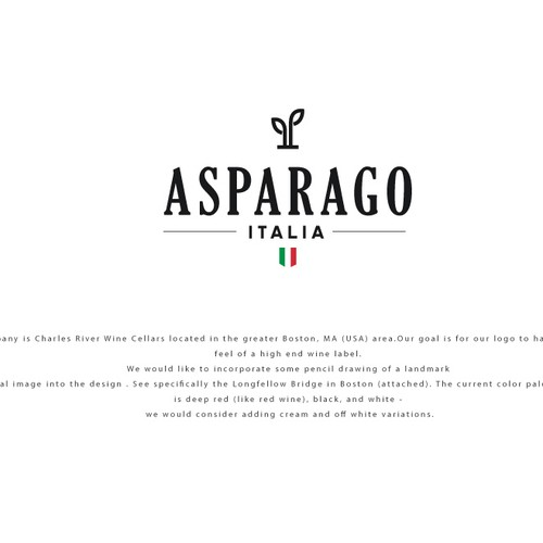 Logo for Asparago Italia